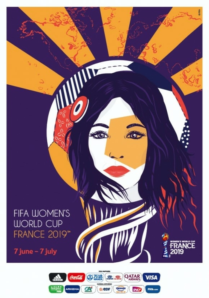 FIFA Women's World Cup France 2019™: Official Poster unveiled
