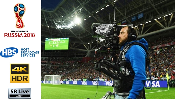 FIFA at the forefront of broadcast technology