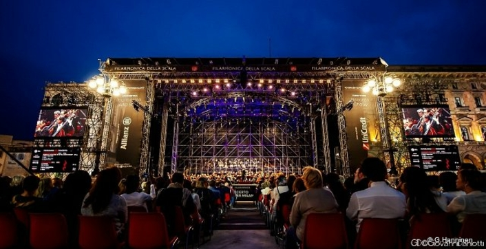 L-Acoustics K Series impresses Orchestra Filarmonica della Scala at Piazza Duomo open-air concert