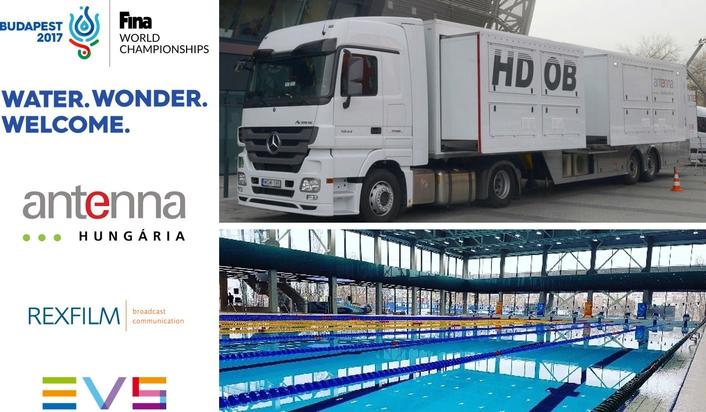 Antenna Hungária makes a splash with EVS ahead of FINA World Championships