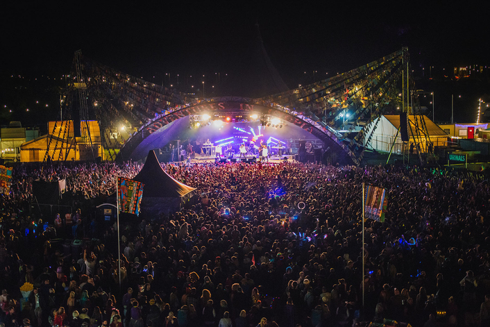 Fineline Lights Shambala Festival Live Production Tv