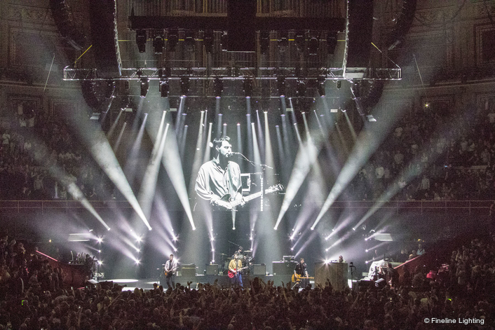 Fineline Supplies LED Screen for  Teenage Cancer Trust Shows at RAH