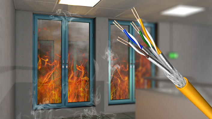 Triple 1: Highly shielded Draka cables meet CPR fire protection class Dca s1 d1 a1