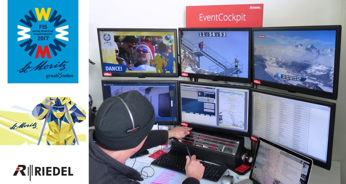 Riedel Underlines Its Pioneering Role in Communications at the 2017 FIS Alpine World Ski Championships in St. Moritz