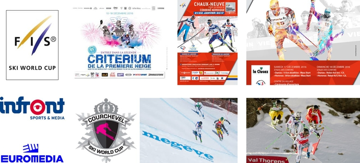 Winter sports: EUROMEDIA reaches new heights