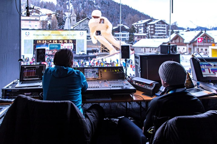 With Its Extensive Communications Backbone, the Official FIS Partner Provides the Central Nervous System of the World Ski Cupin St.Moritz