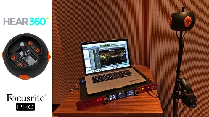 Focusrite Red 8Pre Lets HEAR360 Binaural Microphones Dive Deeper into Immersive Sound