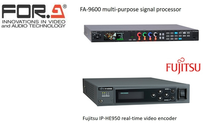 FOR-A CONTINUES PUSH TOWARD 12G- AND IP-ENABLED TECHNOLOGY FOR LIVE PRODUCTION