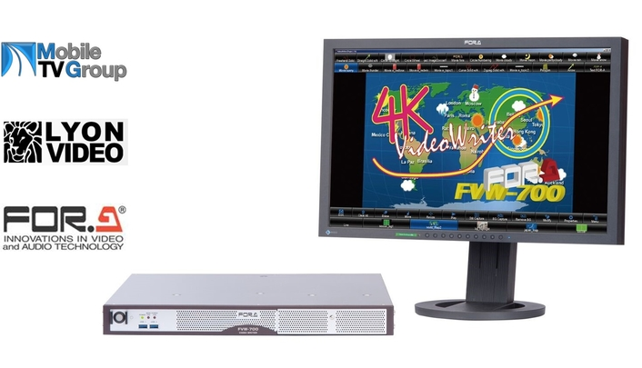 FOR-A's New FVW-700 4K Telestrator Ships to its First Customers