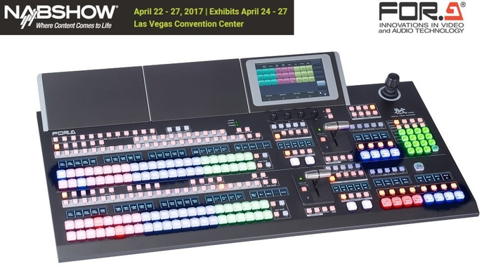 Compact Size and Extensive Feature Set Mean Less Equipment Needed for Live Production with New FOR-A Switcher