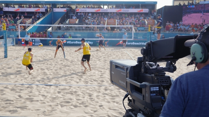 The future is now at DELA European Beach Volleyball Championships