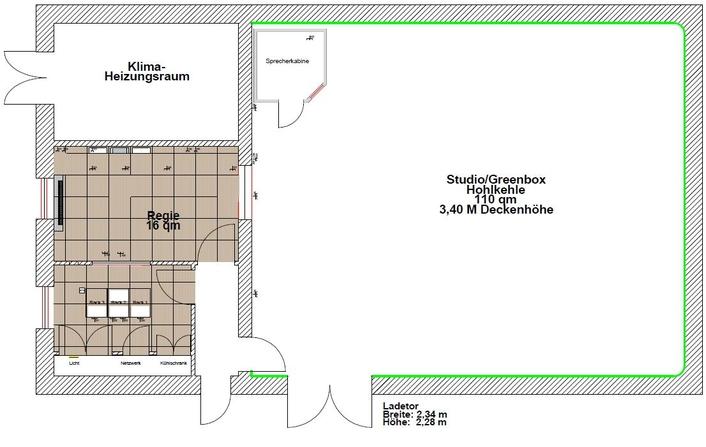 Fraunhofer offers Greenroom