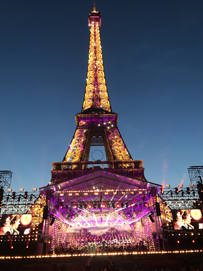 GB4D DEPLOYS 152 OPTOCORE PREAMPS FOR 'IMMERSIVE' FRENCH NATIONAL DAY CELEBRATION AT EIFFEL TOWER