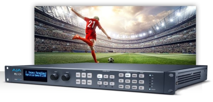 AJA Delivers FS-HDR v2.0 Software  Enables Greater Control Over Color Processing and HDR Conversion, Transforms and Expands Camera Format Support