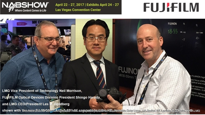 NAB 2017: LMG ADDS FIVE NEW FUJINON UA18x 4K ZOOMS TO HANDLE GROWING DEMAND