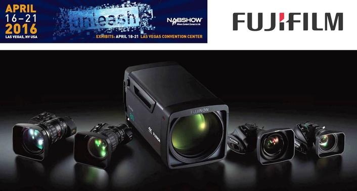 """New Fujinon """"4K Plus Premier"""" Series lenses at NAB 2016"""