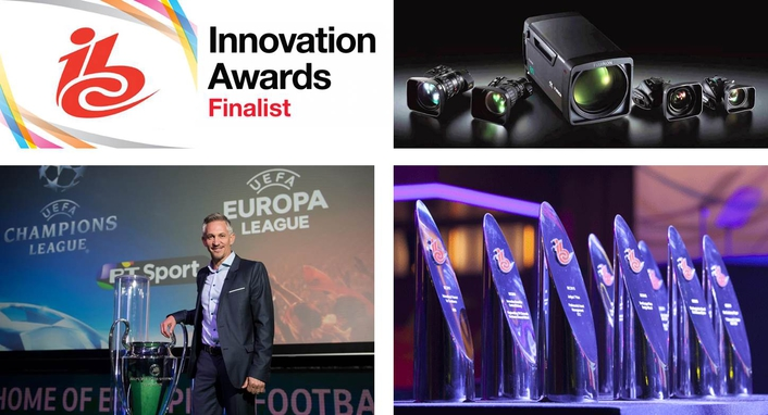 "FUJIFILM receives honours at the 2016 ""IBC Innovation Awards"" in the category ""Content Delivery"""