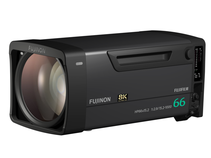 FUJIFILM ANNOUNCES THE DEVELOPMENT OF TWO ADDITIONAL  FUJINON 8K BROADCAST LENSES