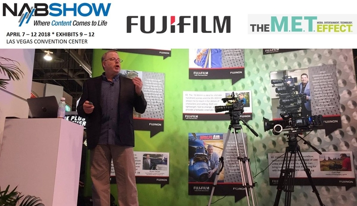 NAB 2018: FUJINON SPEAKER SERIES FEATURES TOP DP'S, INDUSTRY TECH AND PRODUCTION PROFESSIONALS