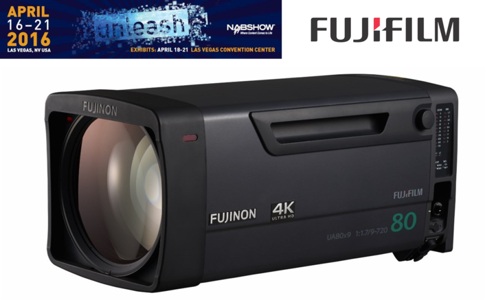 FUJIFILM's Optical Devices Division to Highlight Full Range of Lens Offerings at NAB 2016