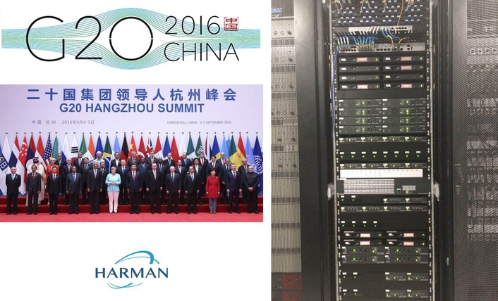 HARMAN Professional Solutions Demonstrates IP Video Distribution Expertise at 2016 G20 Summit