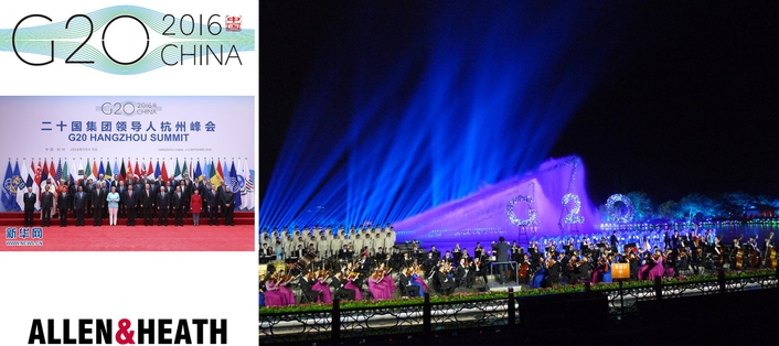 DLIVE MANAGES G20 CONCERT IN CHINA