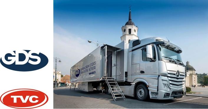 TVC builds 24-cam HD OB van for GDS TV in Georgia