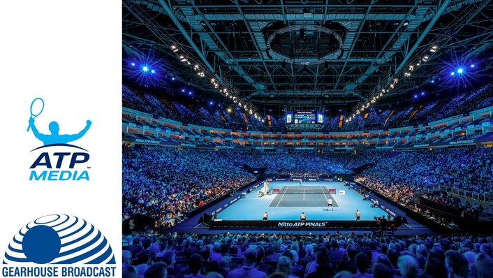 ATP Media and Gearhouse test 4k and 1080p HDR technology at Nitto Finals
