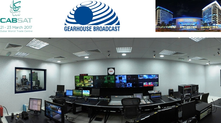 Gearhouse Broadcast brings its fresh Systems Integration approach to CABSAT 2017