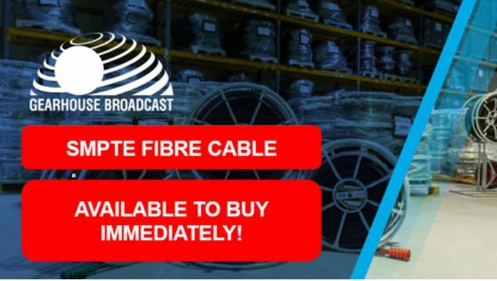 SMPTE Fibre - in stock and ready to ship