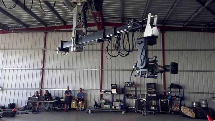 Company Reveals Newly Designed and Built All-axes Underslung Tracking Techno Jib that is Fully Encoded for Real-Time AR Graphics