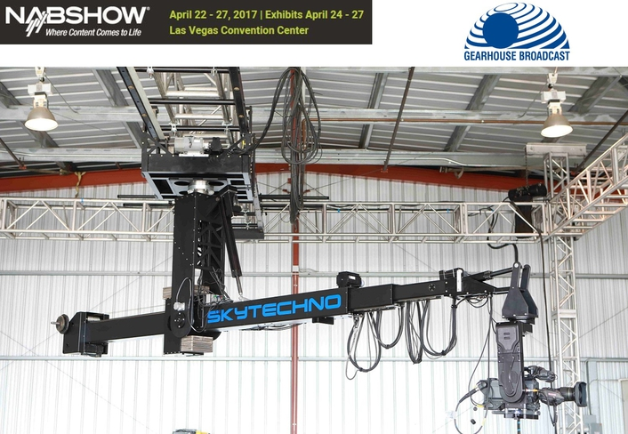 Gearhouse Broadcast and Partners Debut SkyTechno @ NAB2017