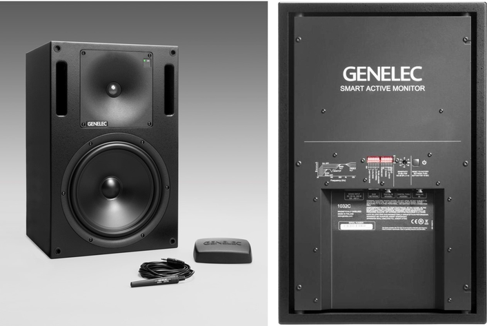 Classic Design Meets Cutting-Edge Technologies in the New Genelec 1032C Studio Monitor
