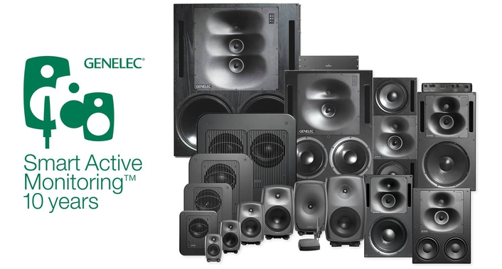 Genelec Celebrates 10 Years of Its SAM™ (Smart Active Monitoring™) Concept and Family of Products