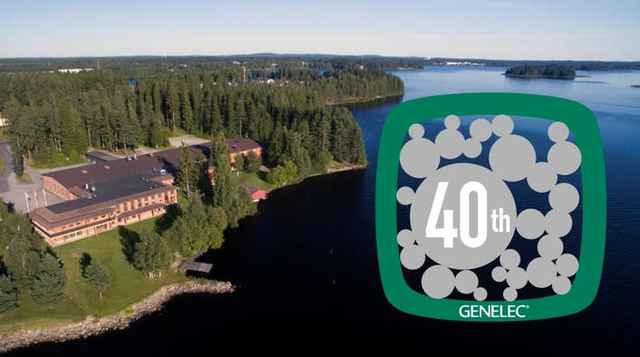 Genelec launches a year of celebrations for landmark 40th anniversary