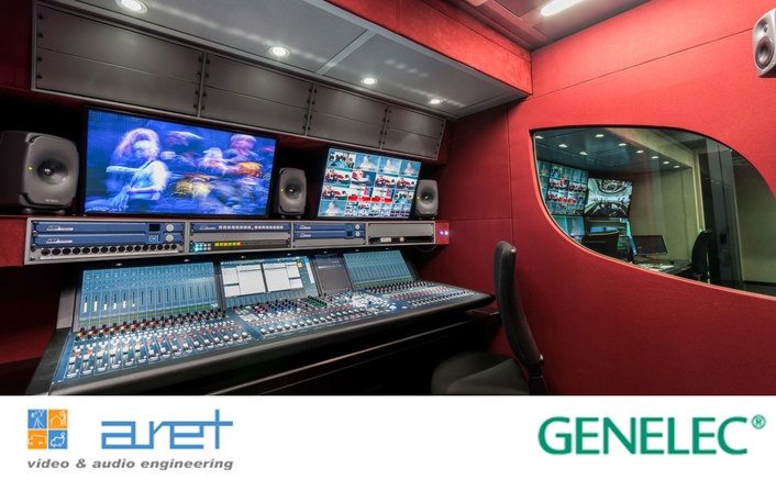 "Genelec's The Ones are ""the perfect choice"" for ground-breaking ARET OB trailer"