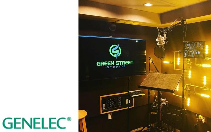 Genelec Smart Active Monitors Employed for 7.1.4 Immersive  Setup at Green Street Studios in Sherman Oaks, CA