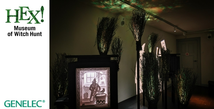 Genelec leaves visitors spellbound at HEX! Museum of Witch Hunt