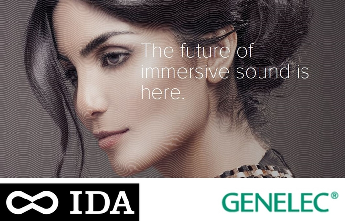Genelec and IDA Audio to redefine immersive 3D Audio for professional headphone users