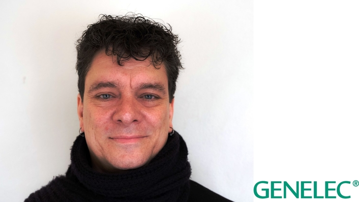 Genelec welcomes Michael Bohlin as International Sales Manager