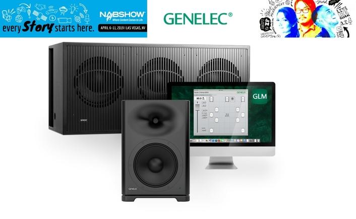 Genelec Displays High-SPL Smart Active Monitors™