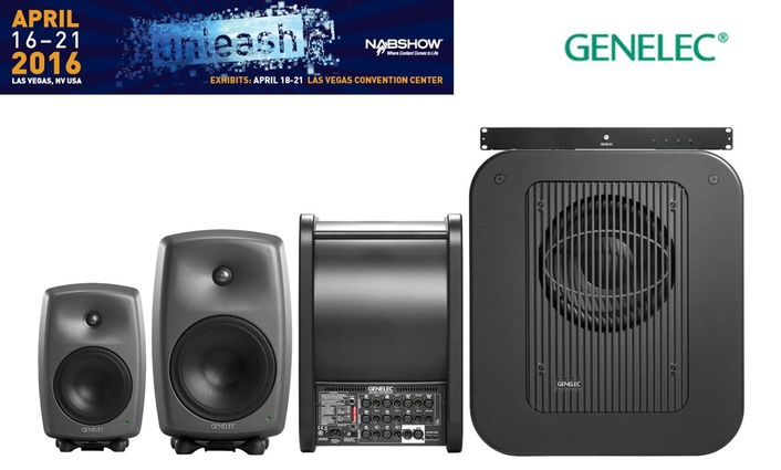 Genelec Offers Its Next Generation of Smart Active Monitoring™ (SAM™) Systems at NAB 2016