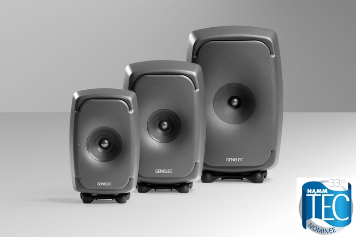 Genelec 8331 and 8341, The Ones Compact Coaxial Monitors, Nominated for Technical Excellence and Creativity (TEC) Award; Voting Now Open