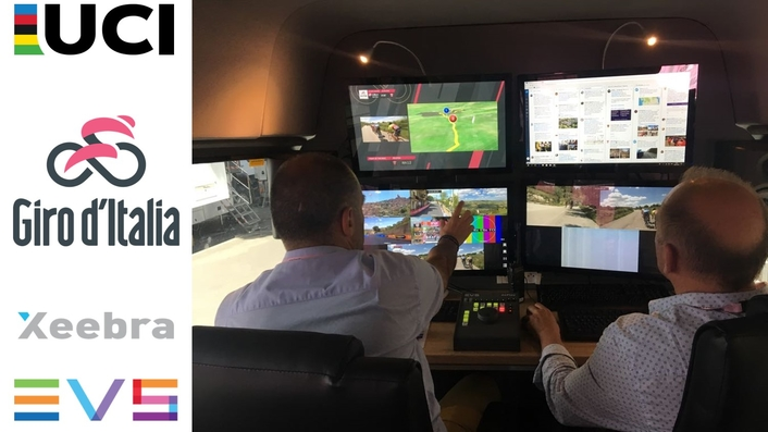 EVS EQUIPS NEW UCI BESPOKE VAN FOR COMMISSAIRES WITH XEEBRA