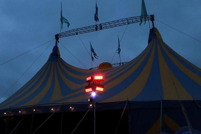 SGM lights dominated Glastonbury