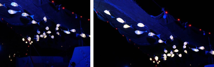 SGM's groundbreaking IP65-rated LED solutions featured right across this year's vast Glastonbury Festival site.