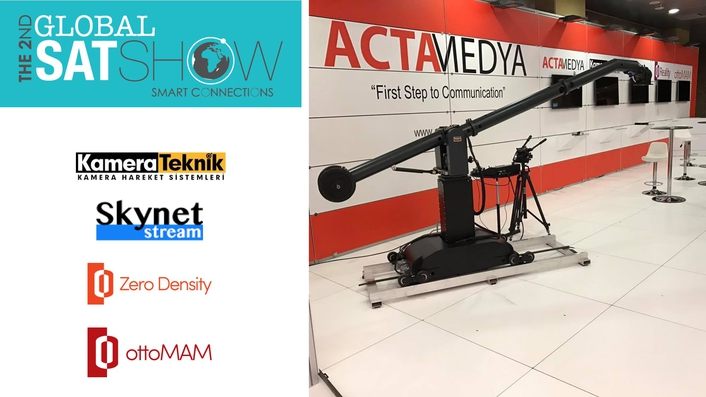 ACTAMEDYA at the Global Satshow in Istanbul