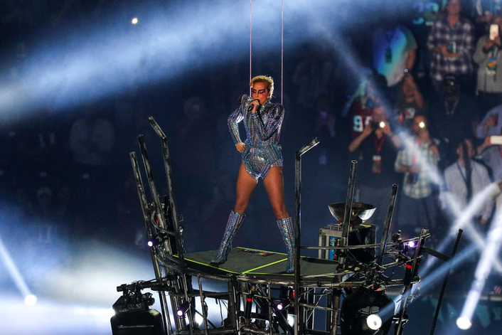 Bob Barnhart lights Lady Gaga stage and aerial acrobatics in top Halftime Show