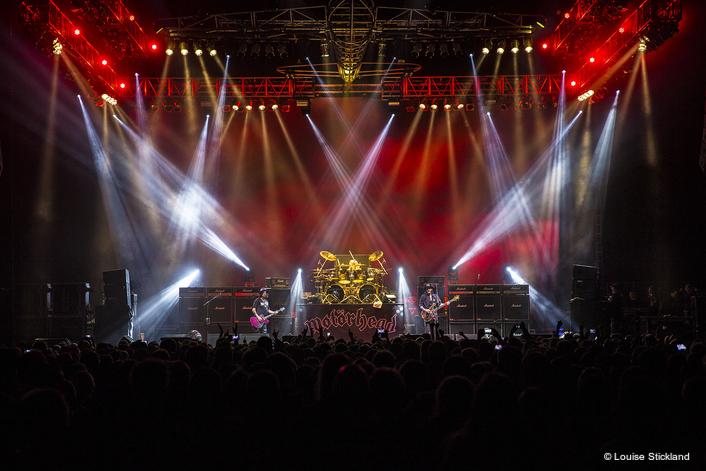 GLS Supplies Magic Lighting & Automation  for Motörhead final tour