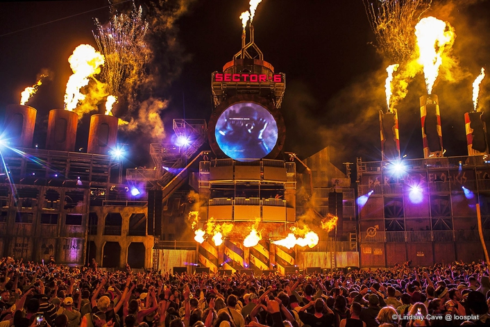 SECTOR 6 Fires Up Boomtown